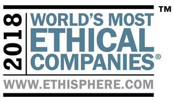 2018 World's Most Ethical Companies logo