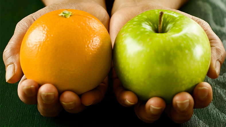 Comparing personal loans and credit cards is like comparing apples to oranges.